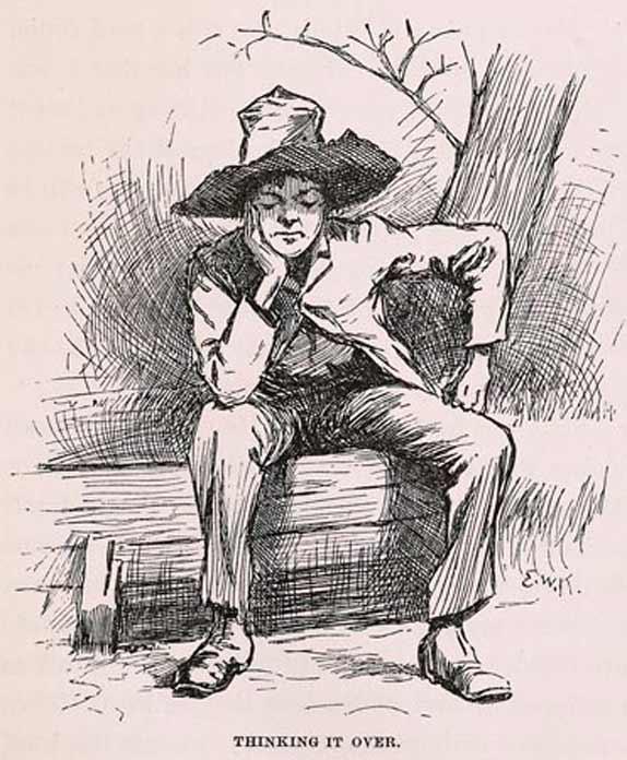 Ilustración: E.W. Kemble