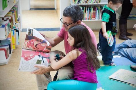 Biblioteca BS A Leer IBBY México. Foto cortesía de Sara Maldonado para IBBY México.