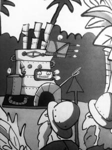 Ilustración de Trino para Por un Tornillo (FCE, 2009)