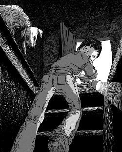 Ilustración de Daniel Rabal para Mambrú perdió la guerra.
