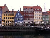 Estudio de Andersen (edificio roja) en Copenhague.