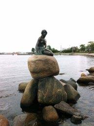 """""""La Sirenita"""" de Copenhague."""
