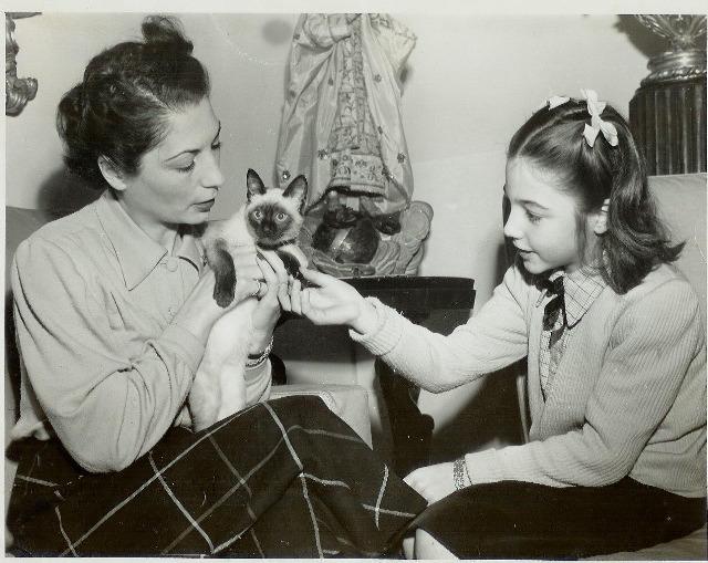 Marina Colasanti con su mamá
