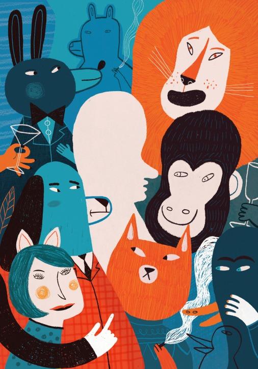 """""""Solitario en la ciudad"""", ganador del XXIV Catálogo de Ilustradores de Publicaciones Infantiles y Juveniles 2014."""