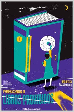 cartel primera semana de libros prohibidos