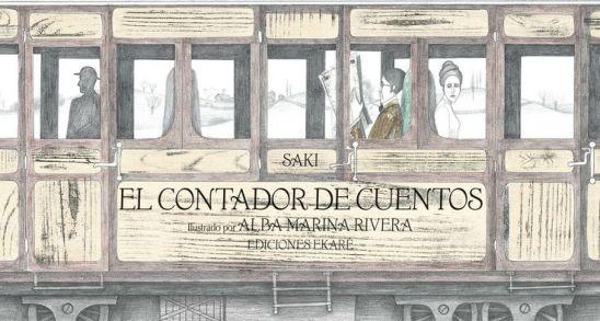 El contador de cuentos, Ekaré.
