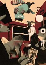 El gato en el tren de pensamientos 5