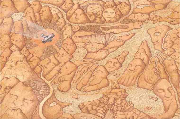 Mapa Peter Sis