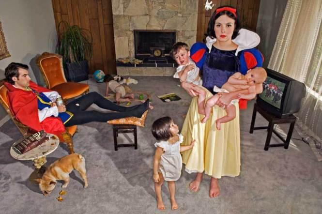 Dina Goldstein Fallen princesses
