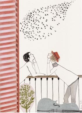 Pájaros de Alicia Varela