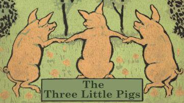 Tres cerditos portada L. Leslie Brooke