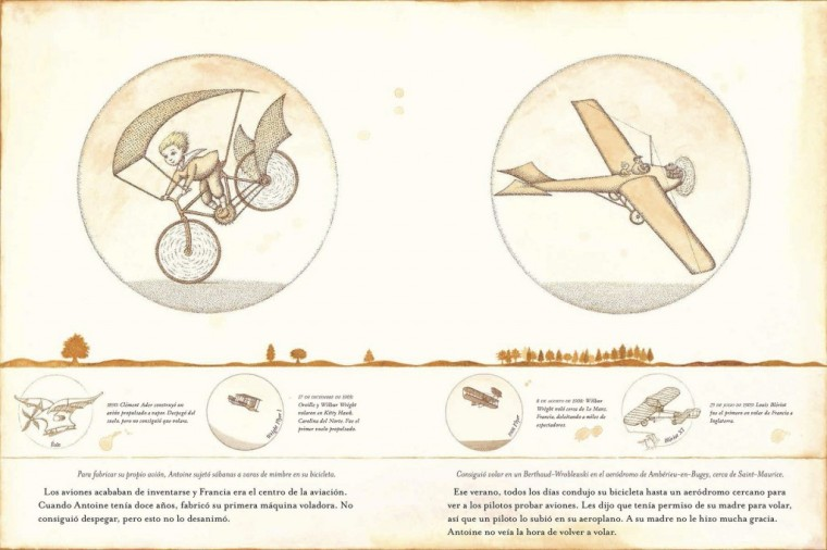 El piloto y el principito interiores