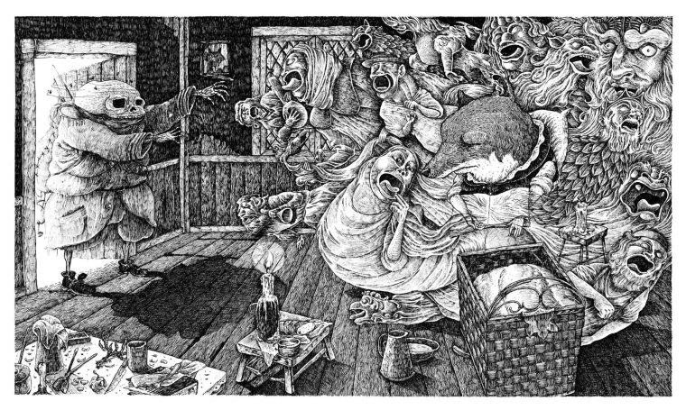 La madre y la muerte-Laiseca