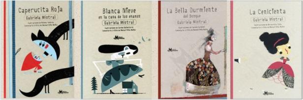Colección Gabriela Mistral, Amanuta, 2012.