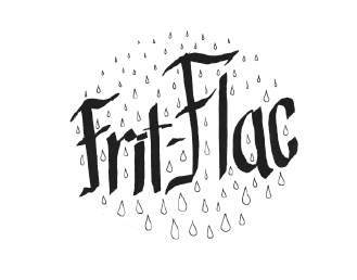 Lettering Frit flac