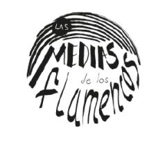 Lettering las medias de los flamencos