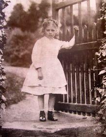Beatrix a los 6 años.