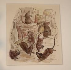 Beatrix Potter ilustraciones de El sastre