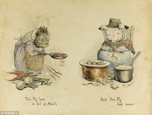 Originales de Beatrix Potter