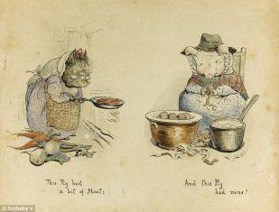 Originales de Beatrix Potter
