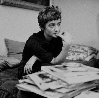 Françoise Sagan.