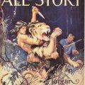 Primera portada de Tarzan aparecida en la edición de octubre de 1912 de la revista The All-Story. Autor: Clinton Pettee(1872-1937).