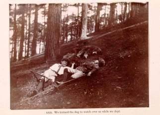 The boy castaway J. M. Barrie, 1901.