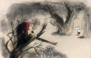 miedo el bosque papa lobo int3