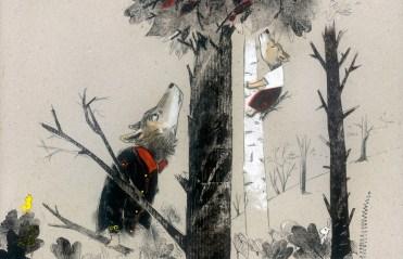 miedo el bosque papa lobo int4