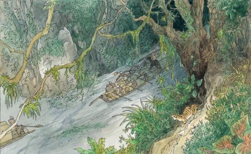 Ilustración de François Place.