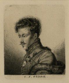 Retrato de Carl Grimm.