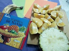 Sorpresa de Nandi frutas
