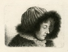 Mujer. Ludwig Emil Grimm.
