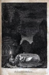 Blancanieves Ludwig Emil Grimm