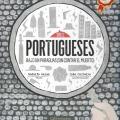 Tres portugueses bajo unparaguas