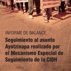Informe del balance seguimiento Ayotzi
