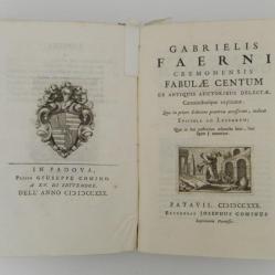 100 fábulasde Gabriele Faerno