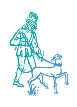 Una idea toda azul int perro